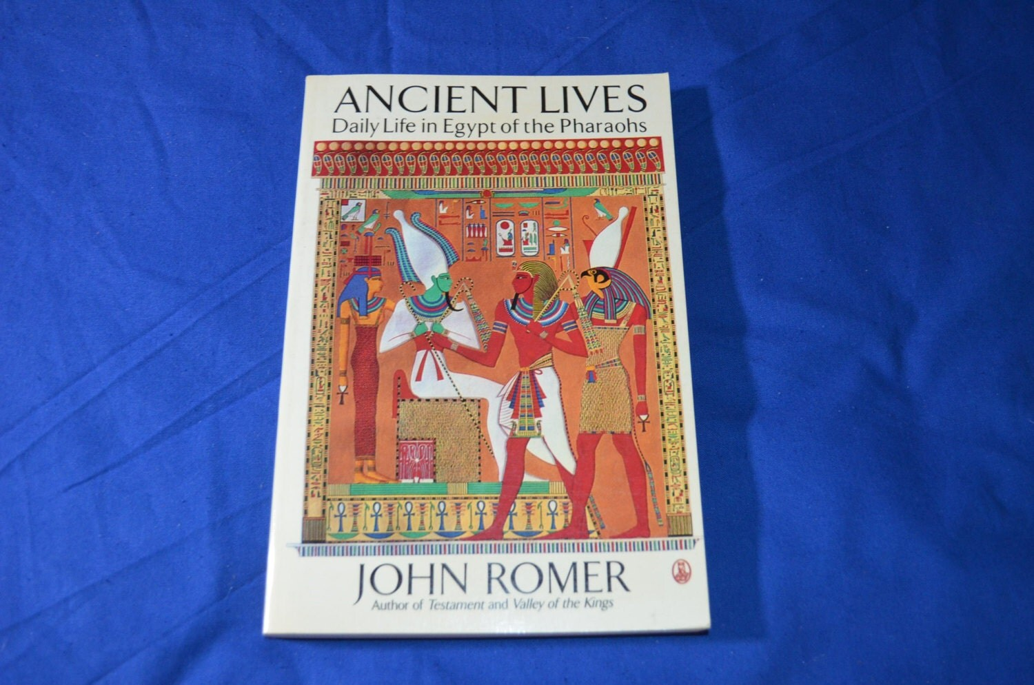 On Sale Book Ancient Lives Daily Life In Egypt Of The