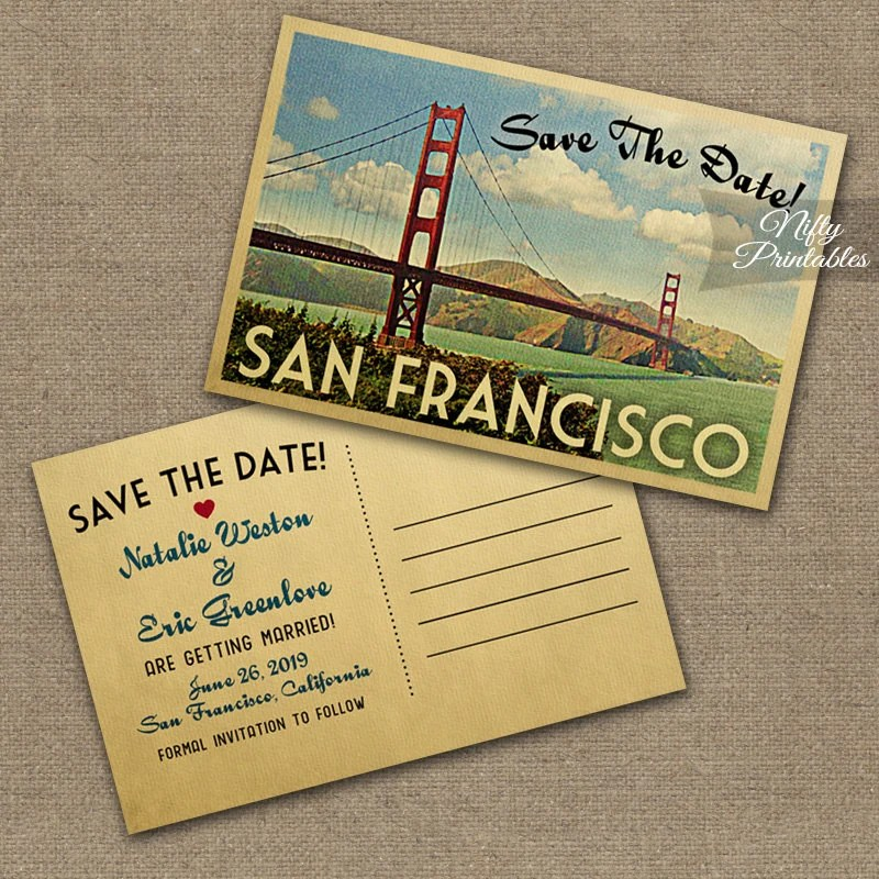 Save Date Postcards