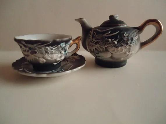 Teacup Trademarks Miniature Saucer And Japan Made