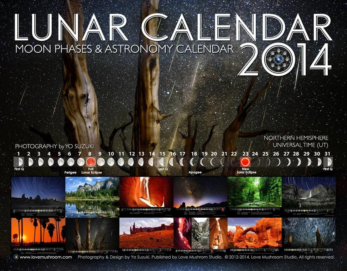 Solar And Lunar Calendar 2014
