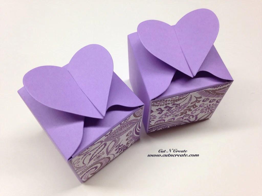 Purple Favor Box Purple Favors Purple Wedding Purple Paisley