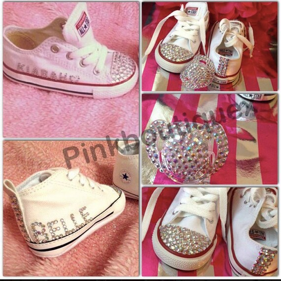 27b53 a6b09 how to bedazzle baby converse huge selection of ... 2eaff26aaf61