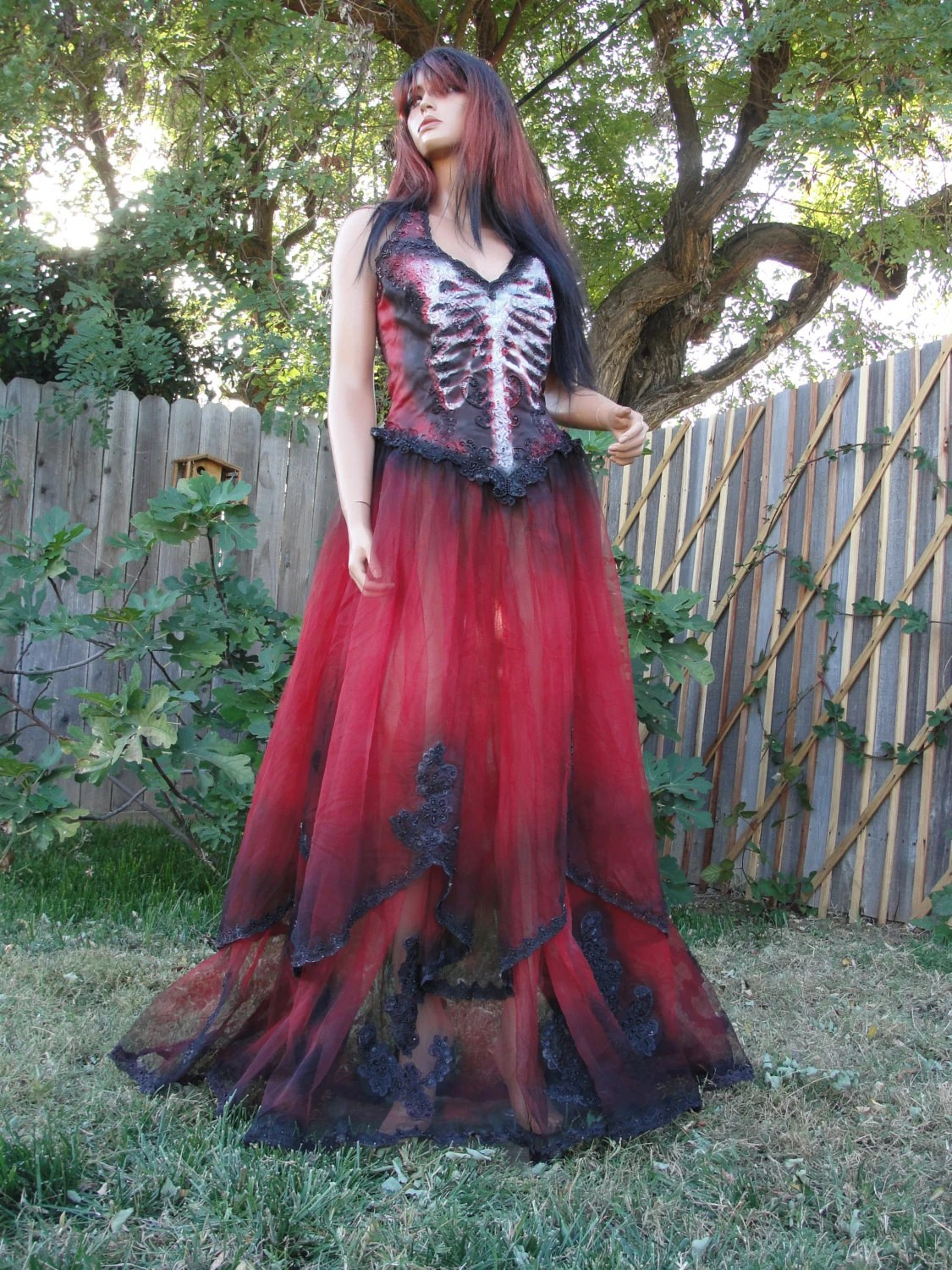 Mardi Gras Black And Red Skeleton Day Of The Dead Halloween