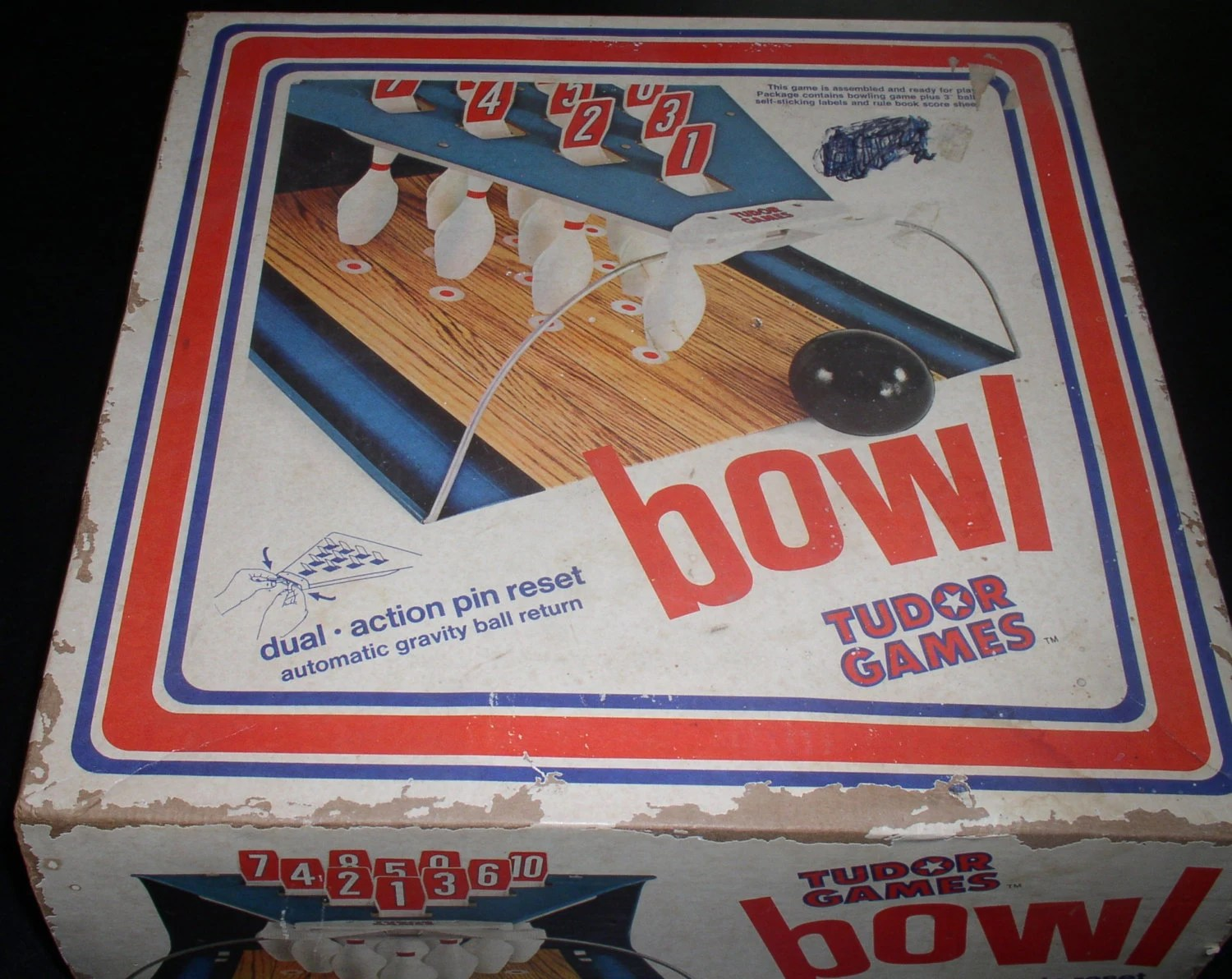 Bowling Table Top Games 1960s