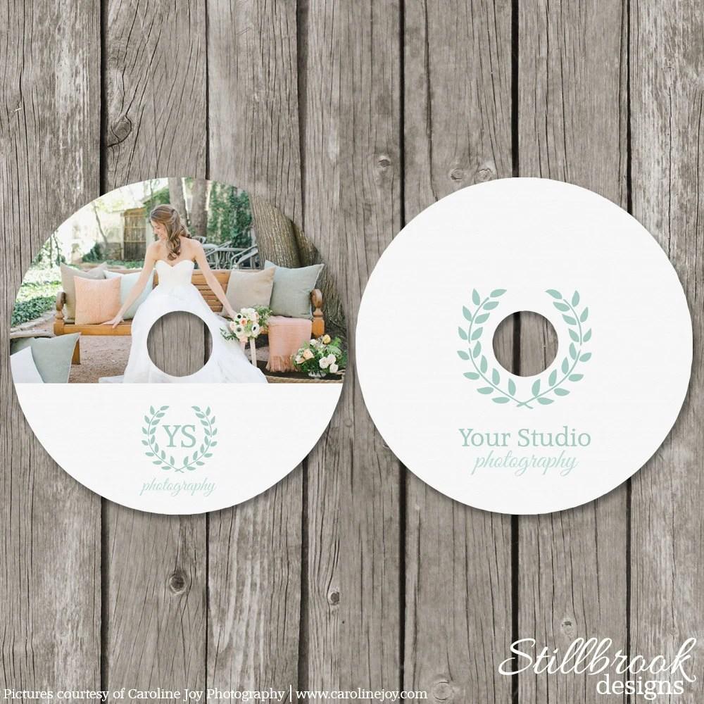 CD Label Vorlage Hochzeit Fotografie DVD Etiketten