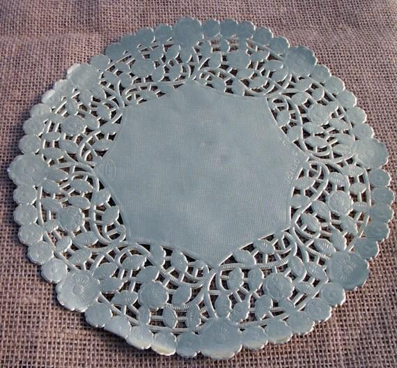 Foil Paper Doilies Crafts