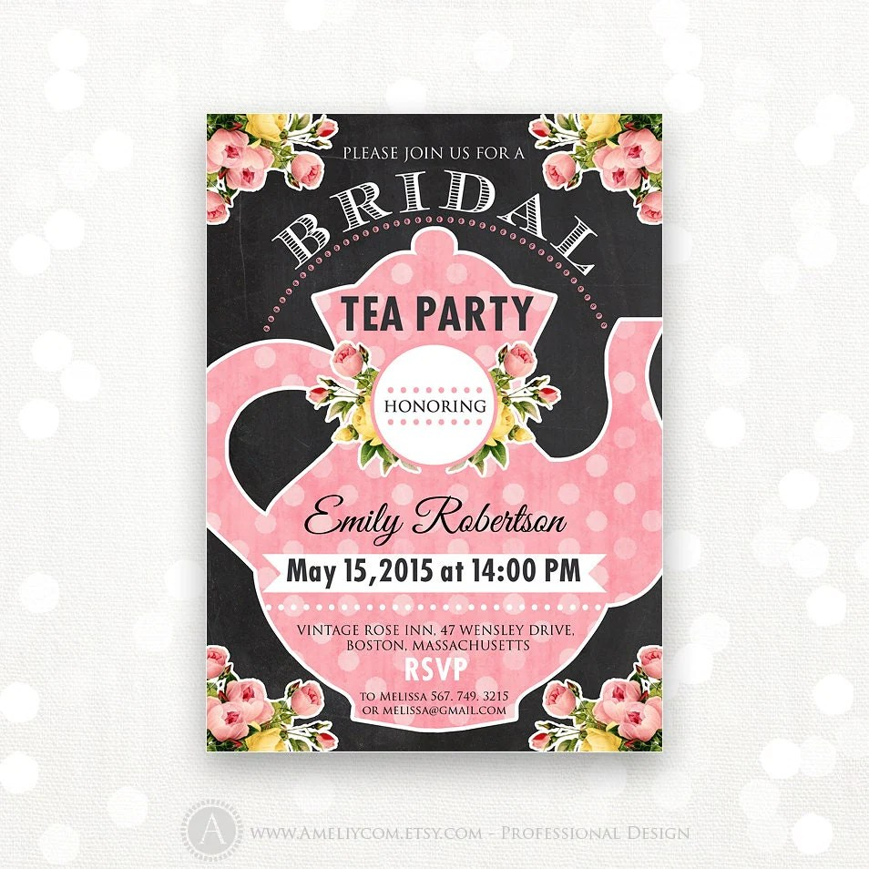 Bridal Shower Invitations Go Out