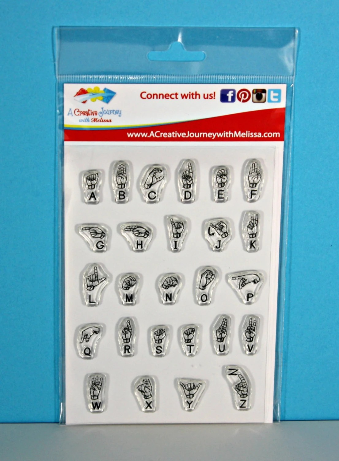 Sign Language Alphabet Stamps American Sign By