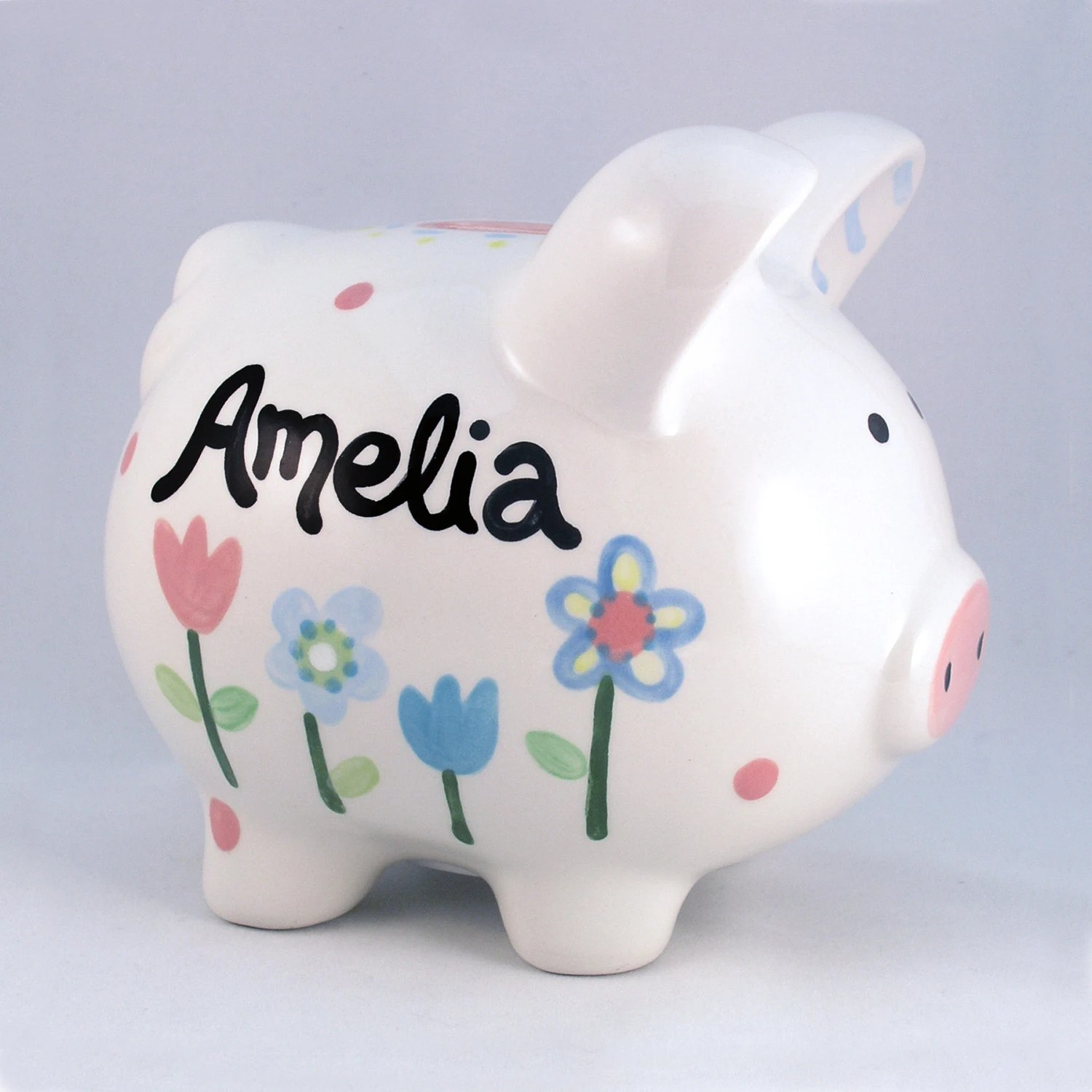 Personalized Piggy Bank Ceramic