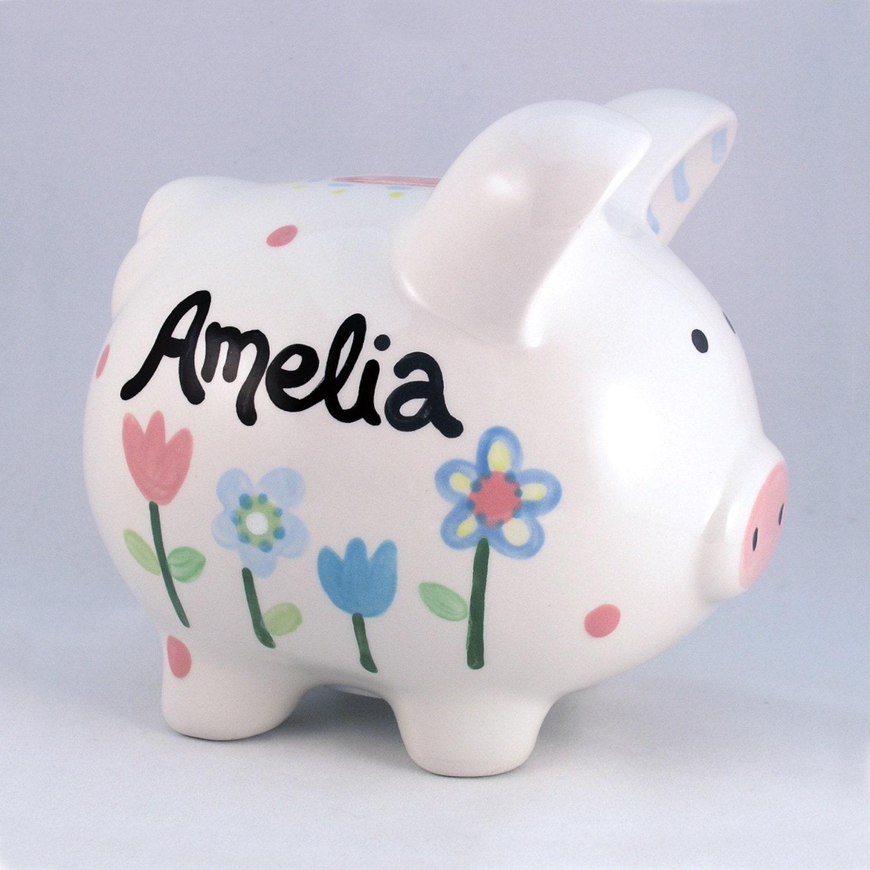Personalized Bank Ceramic Piggy