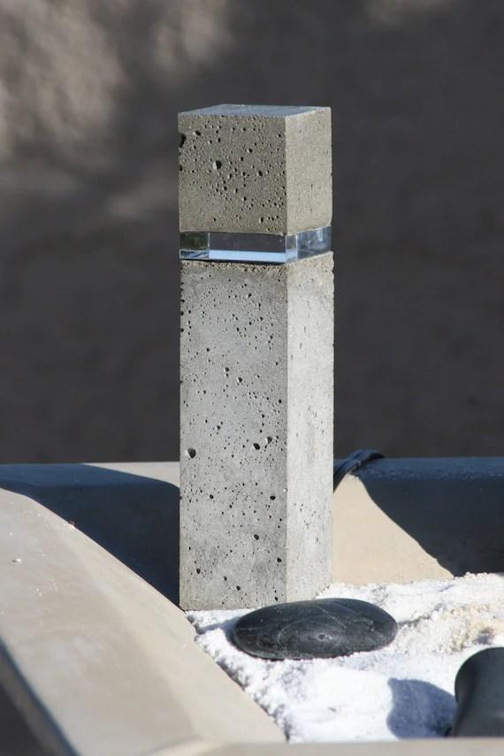 Led Concrete Lights