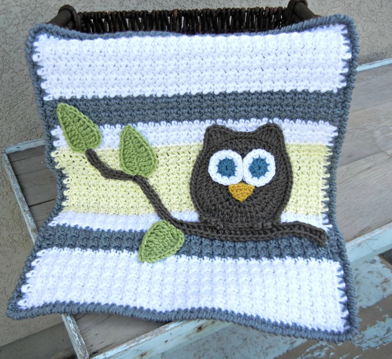 Yellow Shower Grey And Owl Baby