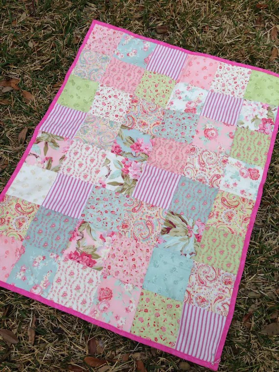 Shabby Chic Baby Quilts