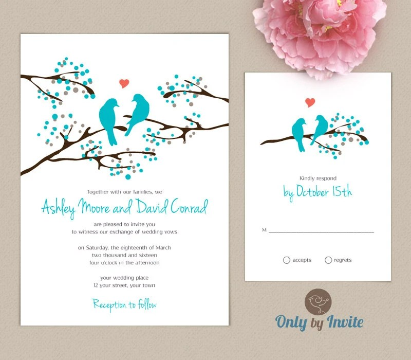 Cheap Wedding Invitations And Rsvp