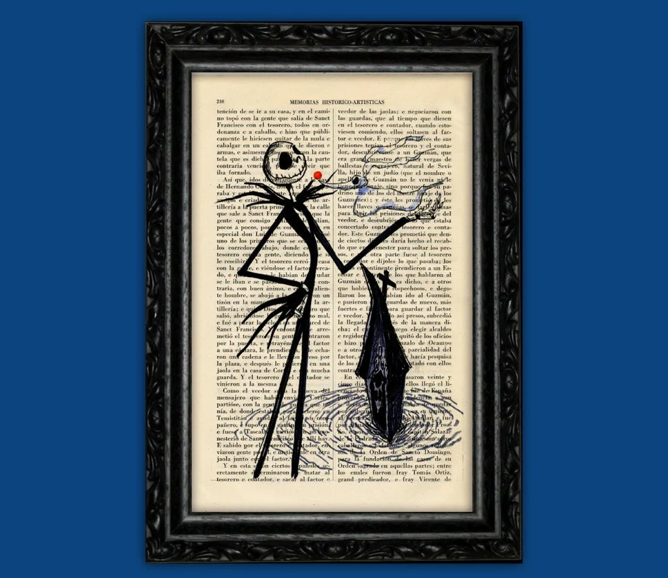 Nightmare Before Christmas Jack From The Silhouette