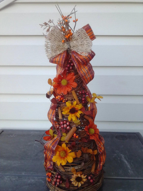 Fall decor fall grapevine tree fall tree with lights on Vine Decor Ideas  id=36491
