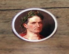 Roman Emperor JULIUS CAESAR Tie tack or Cuff links or Ring or Pendant or Brooch