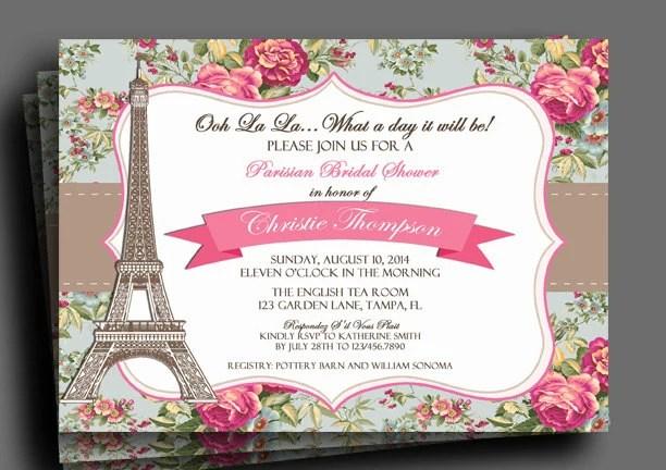 Fast Bridal Shower Invitations