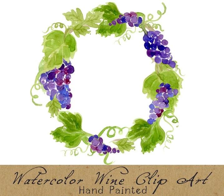 Clip Vineyard Border Art