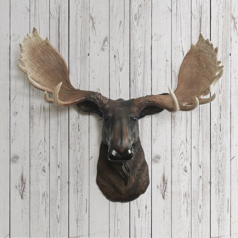 Mount Head Ceramic Moose