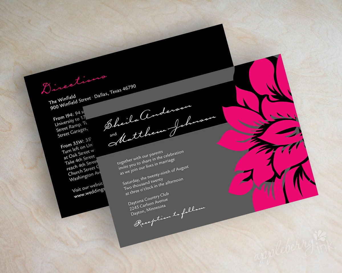Contemporary Wedding Stationery