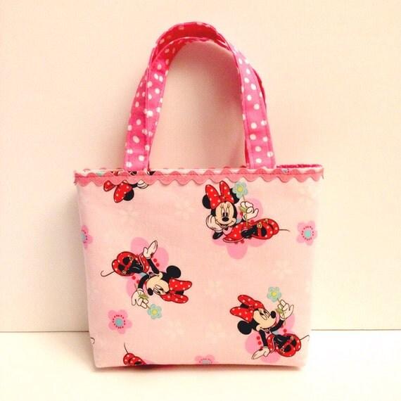 Little Girls Purse/Toddler Purse/Minnie Mouse Purse/Pink