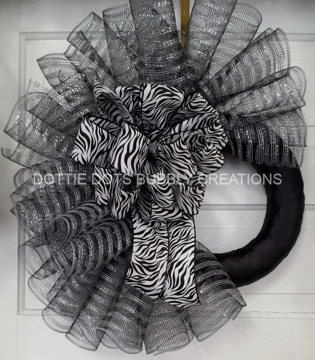 Materials Deco Mesh Wreath