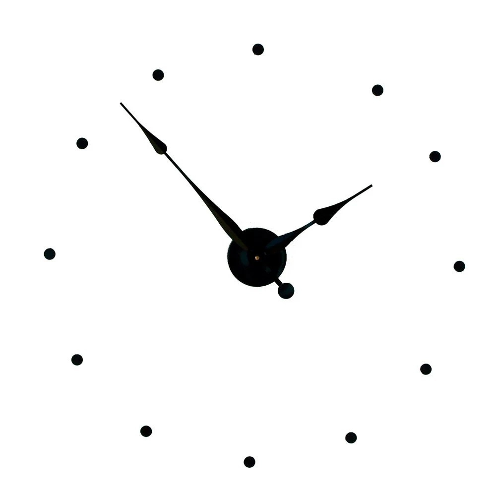 Stick To Wall Clock Numbers Template