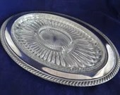 Vintage Large Oval Silver...