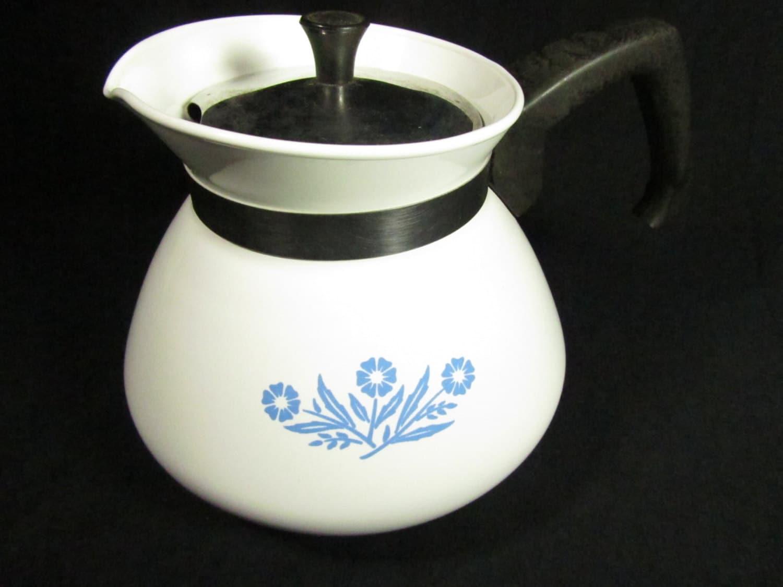 Corning Ware Blue Flower Teapot
