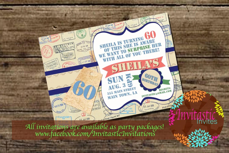 Free Printable 50th Invitations