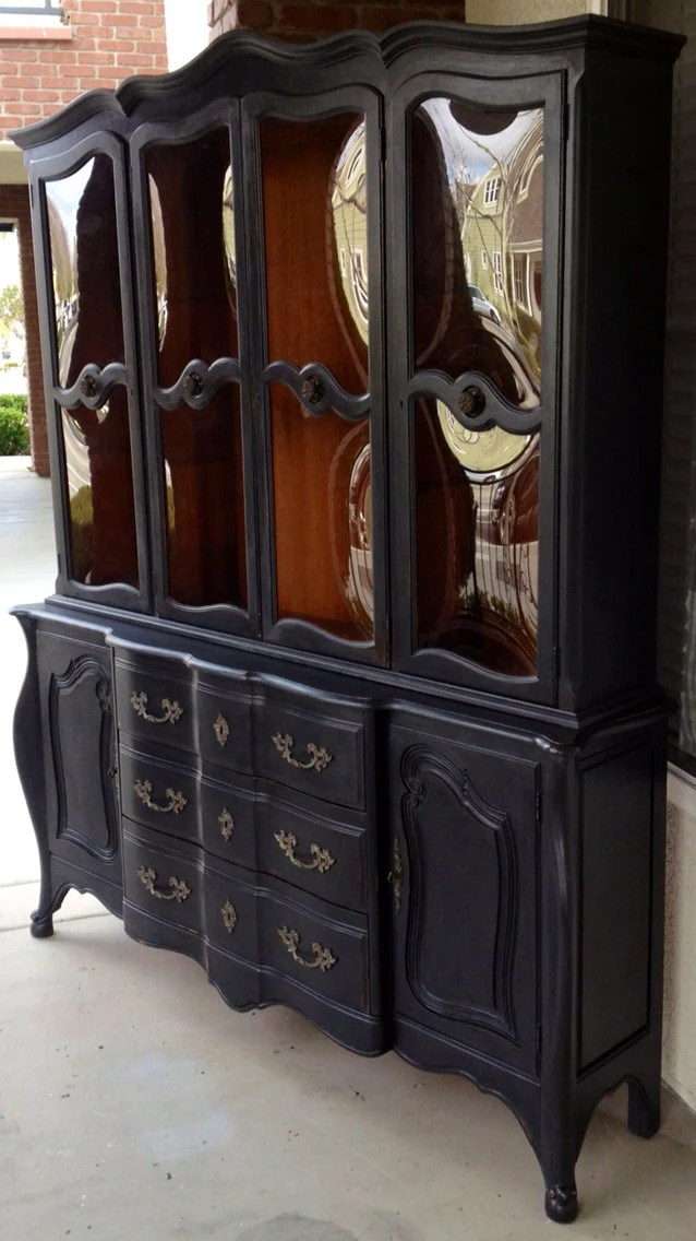 Dark Wood Armoire Wardrobe