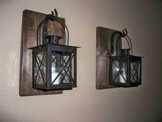 Rustic Bathroom Decor Rustic Home Decor Wrought By LisaMarieDS