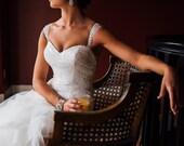 Peacock Hair Clip, Bridal Head Piece, Peacock Feather Fascinator, Wedding Hairpiece, Fascinator, Wedding Headpiece