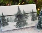10 Feet Christmas Wrapping Paper - Winter Forest, Eco-friendly, seen in Natural Health magazine