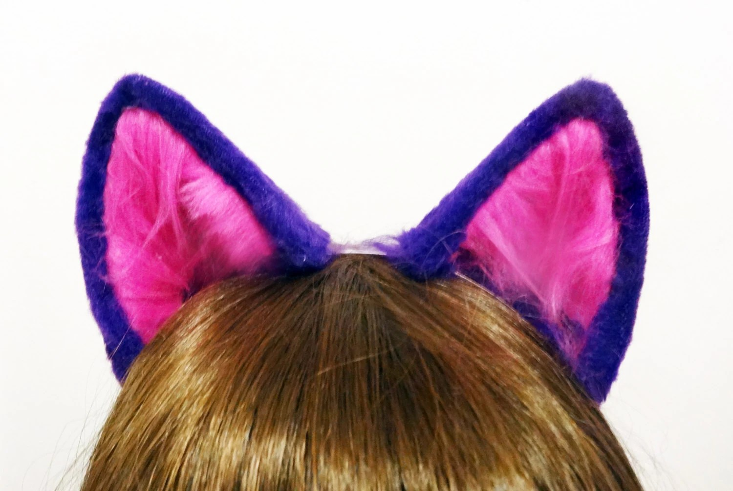 Cheshire Cat Purple And Pink Costume Ears