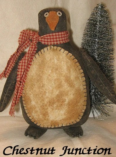 Penlee Penguin EPATTERN Primitive Country Christmas Holiday