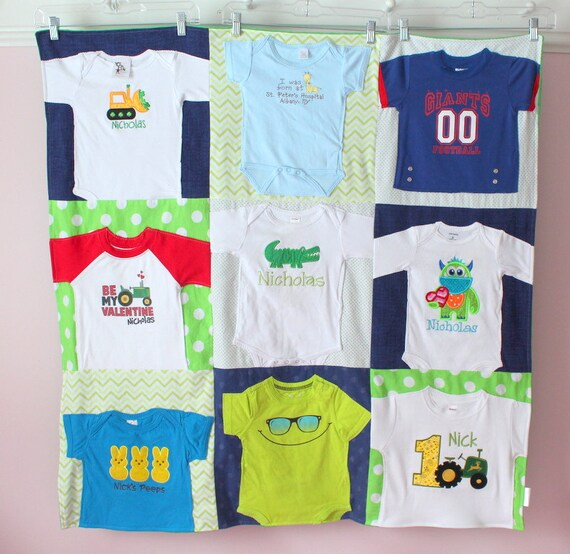 Baby Shirt Quilt