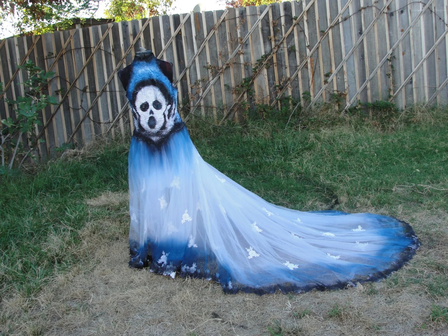 Black Blue And White Skeleton Day Of The By Mysunshinescloset