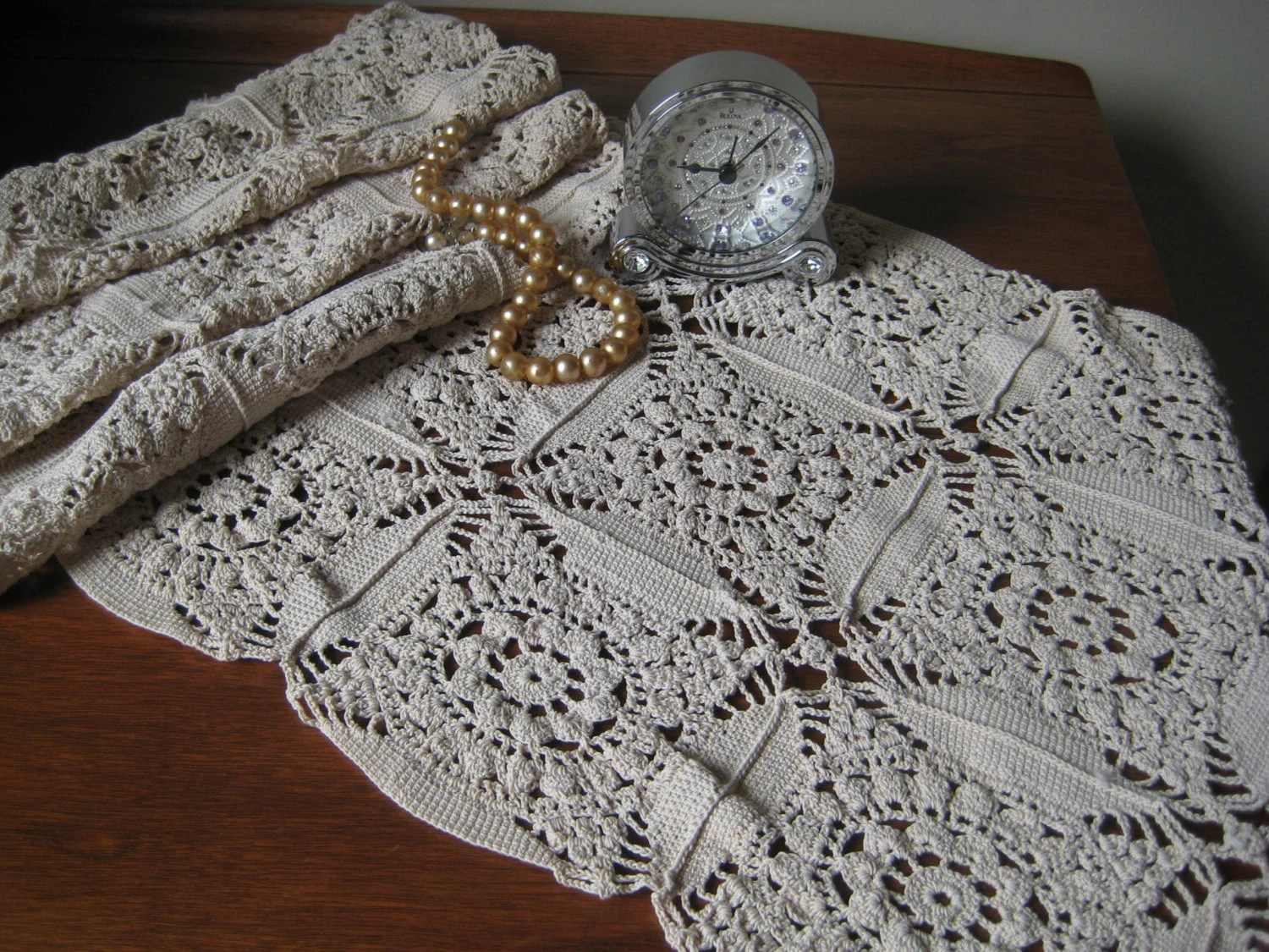 Washable Tablecloth Crochet Lace
