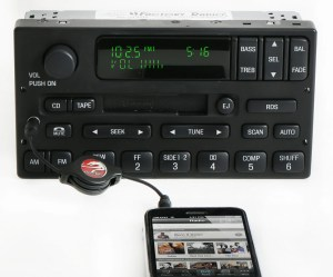 Ford F150 2000 to 2004 am fm Cassette Player w Aux Input Radio