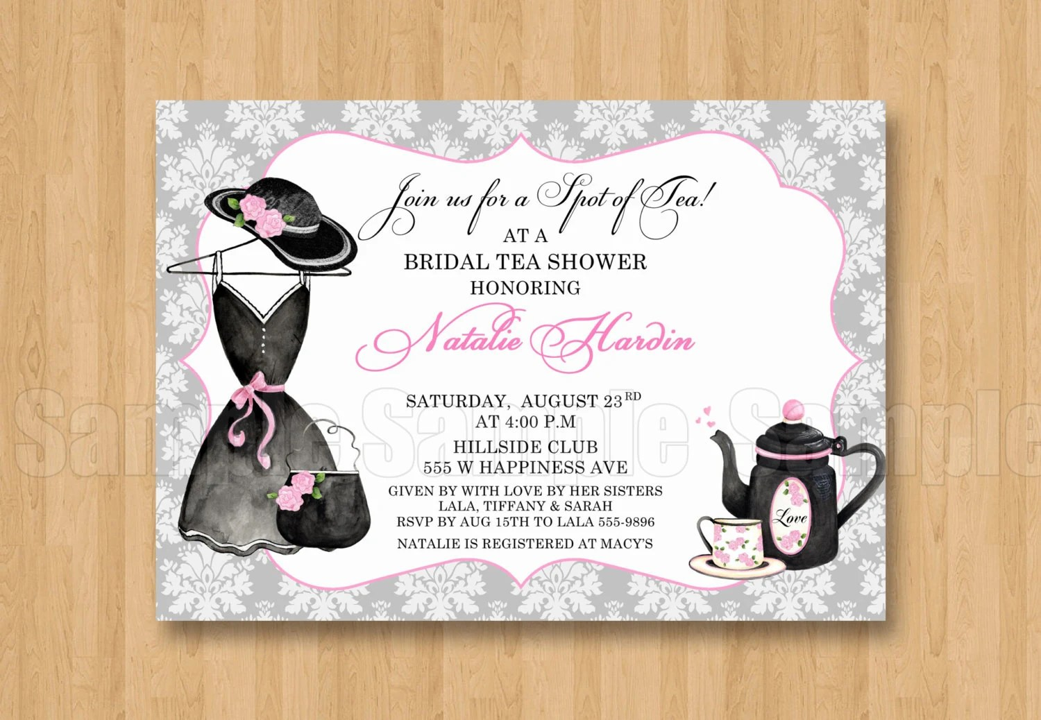 High Quality Bridal Shower Invitations