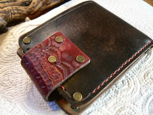 Wallet, Women's Leather Wallet, Leather Wallet,  Bi-Fold Wallet