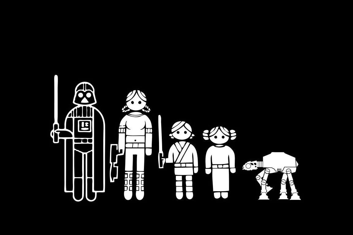 Stick Family Star Wars