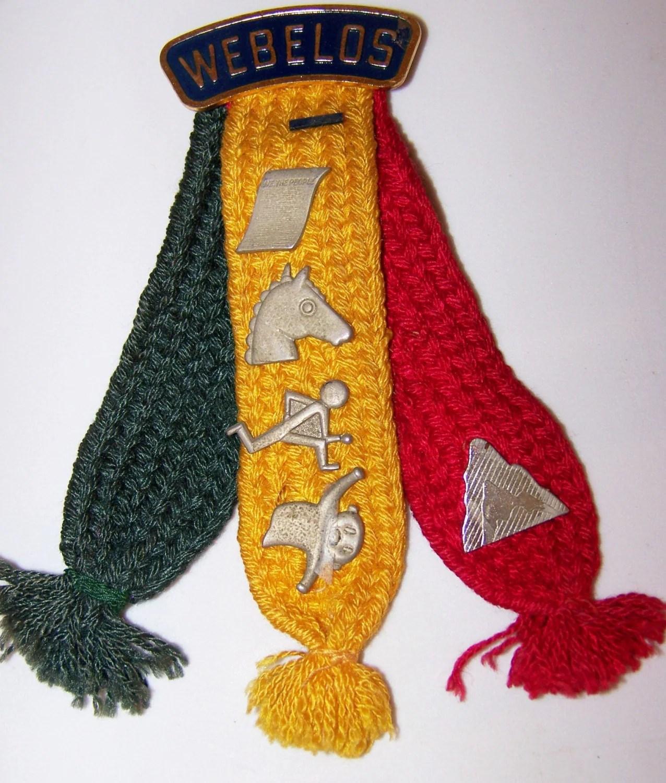 Vintage Boy Scouts Activity Badge Cub Scouts By
