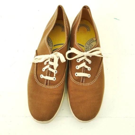 Keds Burgundy Canvas Shoes