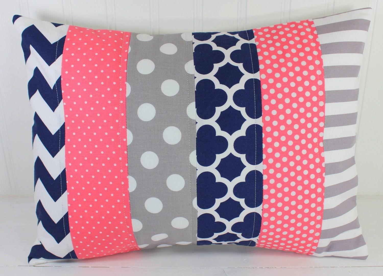 Nursery Pillow Cover Throw Pillow Cover Girl Nursery Decor