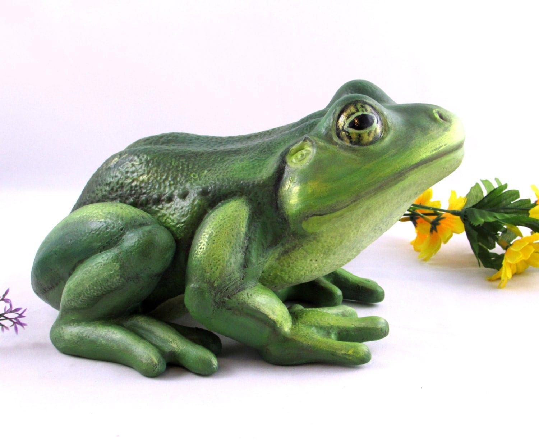 Frog Yard Decor