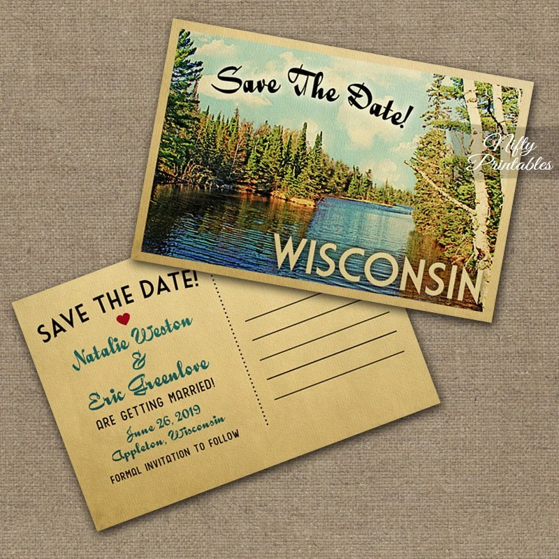 Create Save Date Postcards