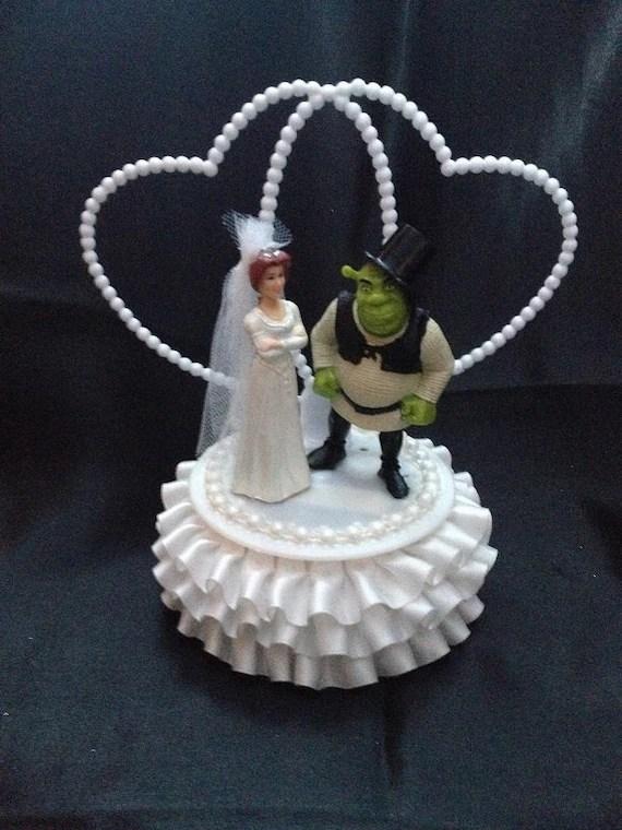 Shrek And Fiona Wedding Cake Topper